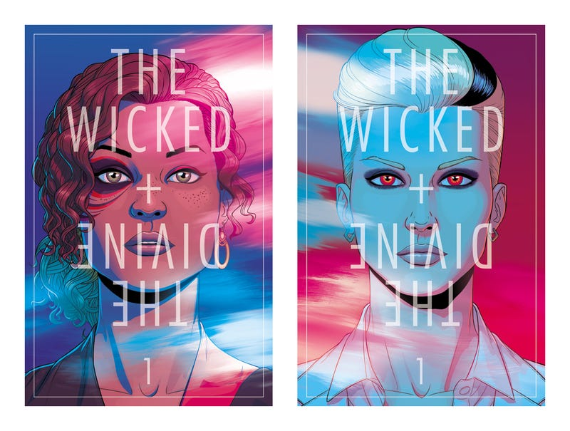 Illustration for article titled The Wicked + The Divine: The Best Comic Series NO ONE is Talking About