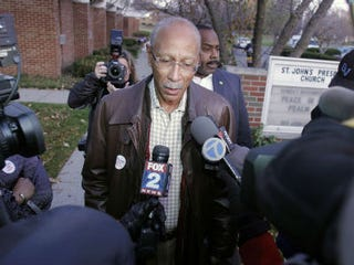 Detroit Mayor Dave Bing, Bill Pugliano/Getty