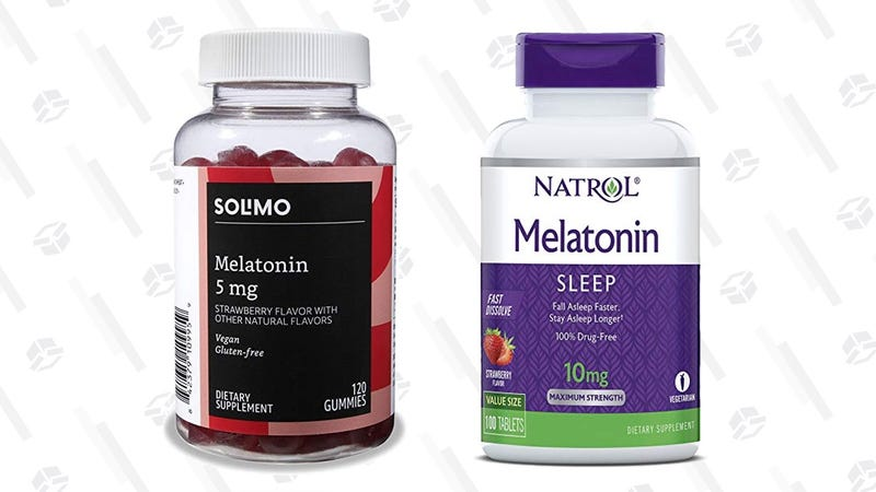 Solimo 5mg Melatonin Gummies - 120 Count | $8 | AmazonNatrol 10mg Melatonin Tablets - 100 Count | $7 | Amazon