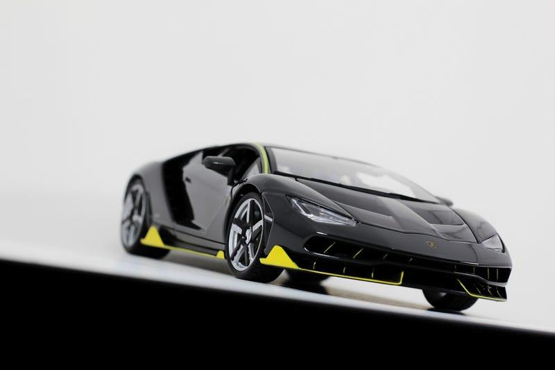 Illustration for article titled ROTB: Maisto Lamborghini Centenario