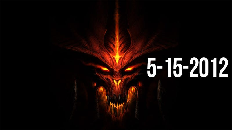 Illustration for article titled Diablo III Is Coming On May 15