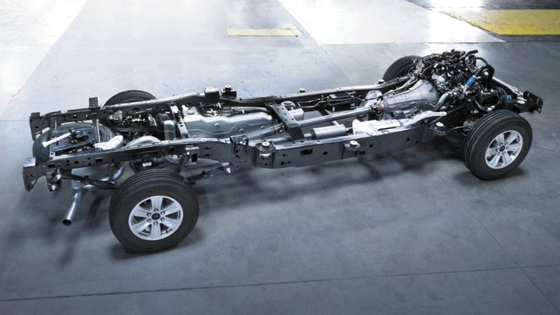 Illustration for article titled How The 2015 Ford F-150 Saves Another 60 Pounds, Aluminum Aside