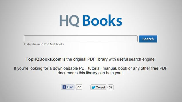 pdf search engine for free books