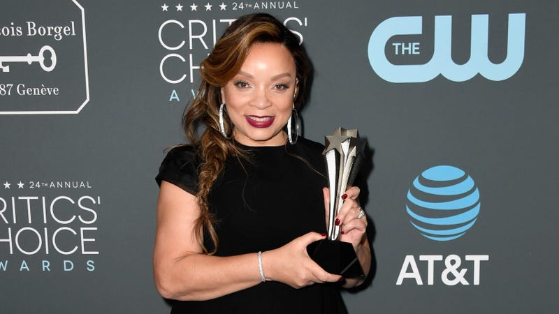Ruth E. Carter, winner of Best Costume Design for 'Black Panther,' poses in the press room during the 24th annual Critics' Choice Awards on January 13, 2019 in Santa Monica, California.