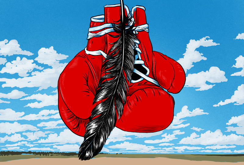 Illustration for article titled The Last Great Warriors of the Navajo Nation