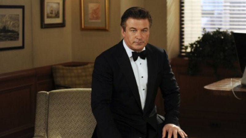 Illustration for article titled Alec Baldwin is once again pretty sure that 30 Rock is about to end