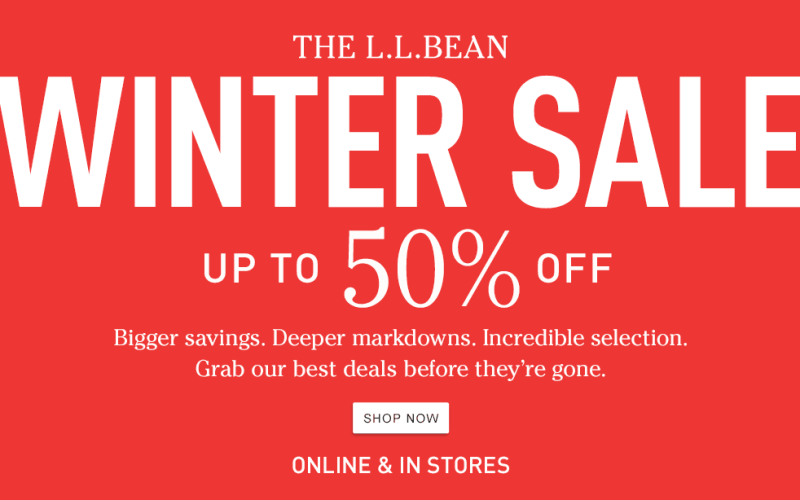 Up to 50% off select styles | L.L.Bean