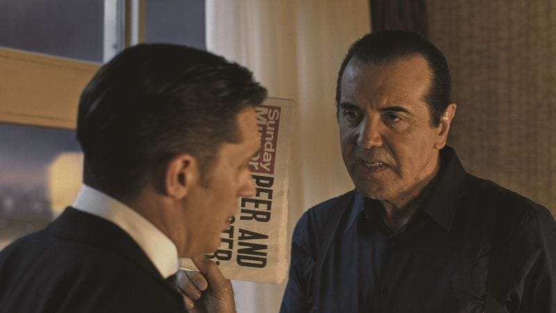 Illustration for article titled Chazz Palminteri on A Bronx Tale, Keyser Söze, and Stallone's career advice