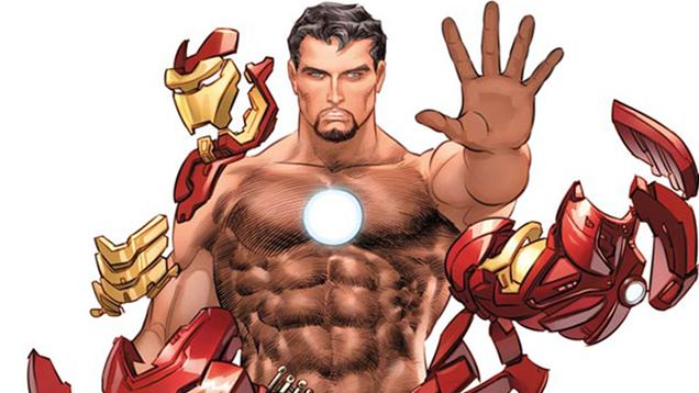Marvel Is Putting Naked Superhero Bodies in ESPN Magazine