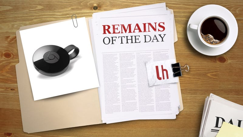 """Illustration for article titled Remains of the Day: Chromecast App to Be Renamed """"Google Cast"""""""