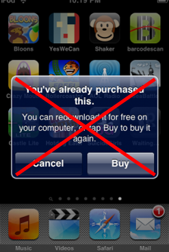 Illustration for article titled iPhone 3.0 Is Re-Allowing You to Re-Download Apps for Free
