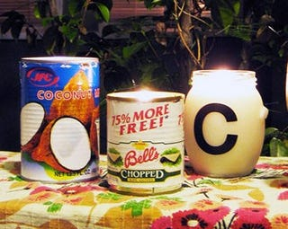 DIY Citronella Candles Cheaply Banish Mosquitoes