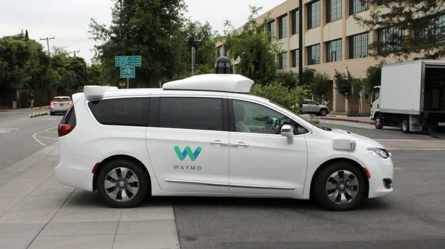 Oh Good, the New Police Surveillance Vector Is Self-Driving Cars