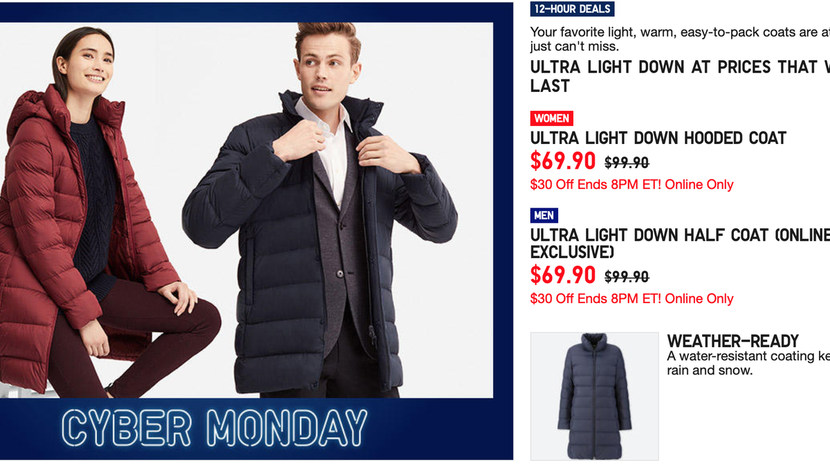 4833f8061c9 The Best Cyber Monday Clothing   Lifestyle Deals 2018  Updating
