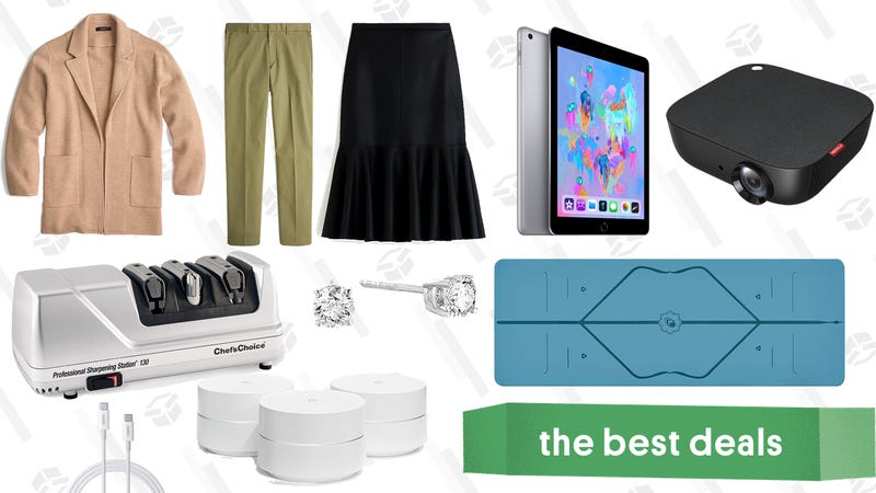 Illustration for article titled Friday's Best Deals: iPads, REI Clearance, Valentine's Bidet, and More