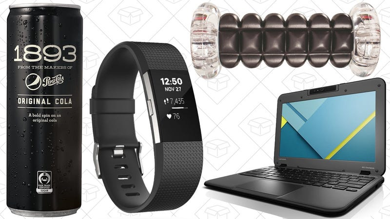 Illustration for article titled Sunday's Best Deals: Pepsi 1893, Fitbits, TriggerPoint Foam Rollers, and More