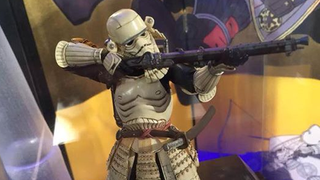 Illustration for article titled Bandai are turning Stormtroopers into beautiful Matchlock Samurai
