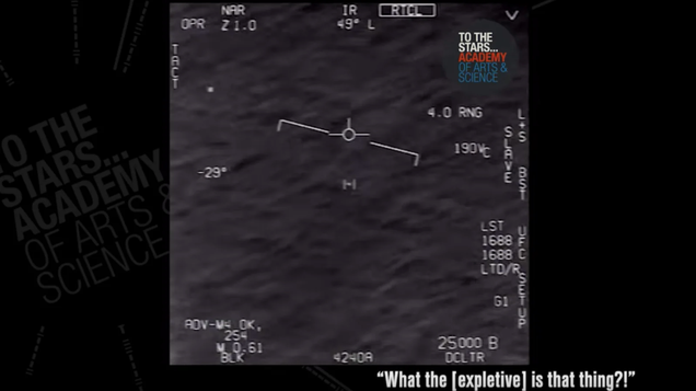Ok, This Is Clearly Not the Classified Alien Report We're Looking For