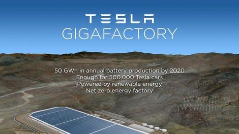 """Resultado de imagen para Tesla""""Gigafactory"""" de Reno, Nevada fotos"""