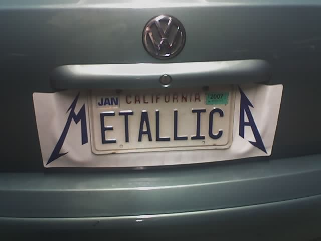 Funny License Plates Front