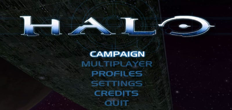 Illustration for article titled Halo Menu And Chill