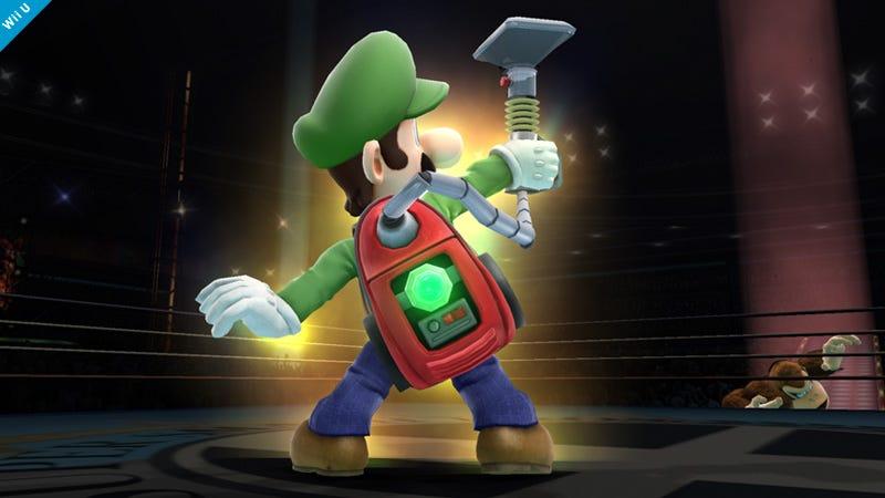Illustration for article titled Smash Shot of the Day: Luigi Sucks