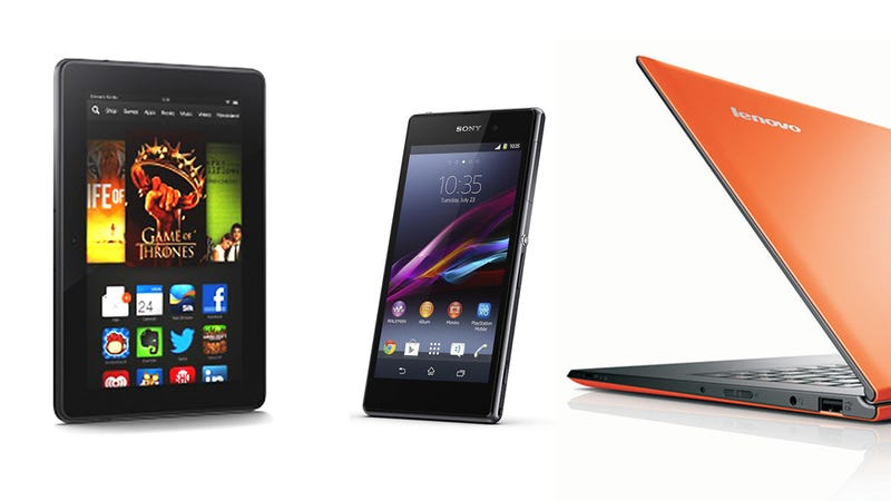 Illustration for article titled Now Available: Kindle Fire HDX, Lenovo Yoga 2 Pro, Sony Xperia Z1, More