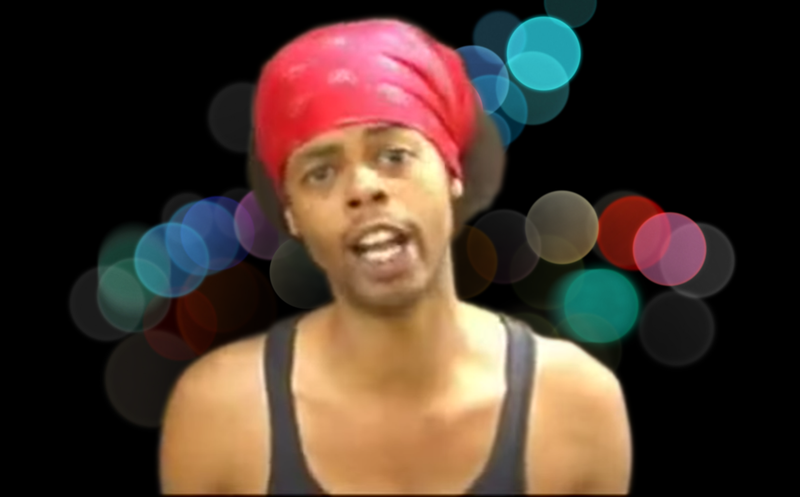 "Antoine Dodson of the ""Bed Intruder Song"" Image: Gizmodo, Photos: Apple/YouTube"