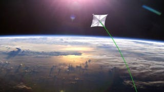 Illustration for article titled NASA will launch the largest solar sail in history as soon as next year