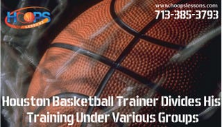 Illustration for article titled Houston Basketball Trainer Divides His Training Under Various Groups