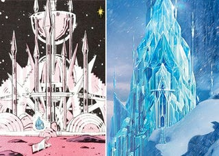 """Illustration for article titled Was the """"Let It Go"""" Sequence From Frozen Inspired by Watchmen?"""