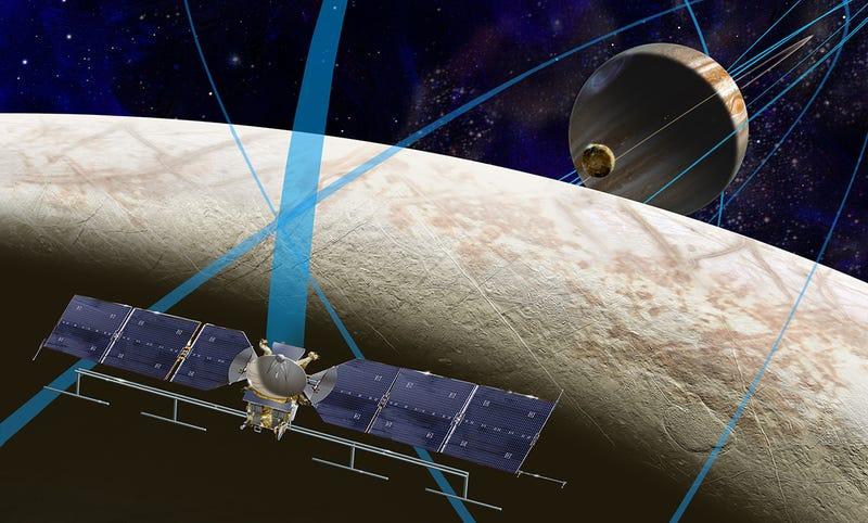 Illustration for article titled Comienza la Misión Europa: así buscaremos vida en la luna de Júpiter