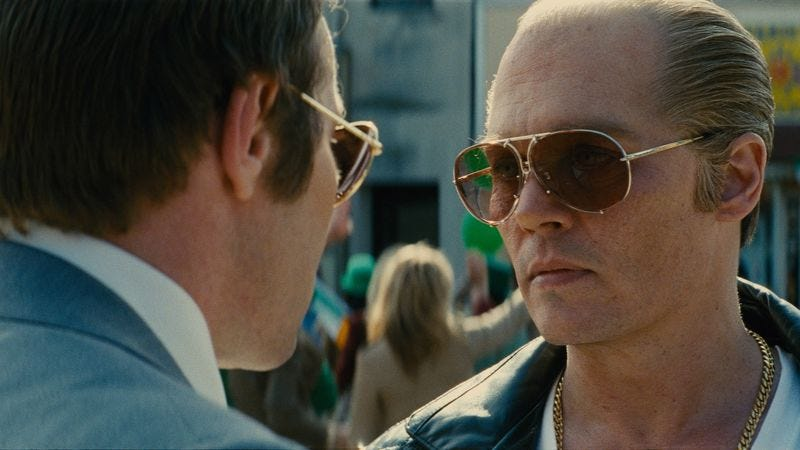 Joel Edgerton, Johnny Depp (Photo: Warner Bros.)