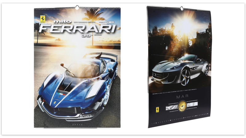 Illustration for article titled Thousands of People Paid Nearly $100 for a Ferrari Scratch-and-Sniff Calendar
