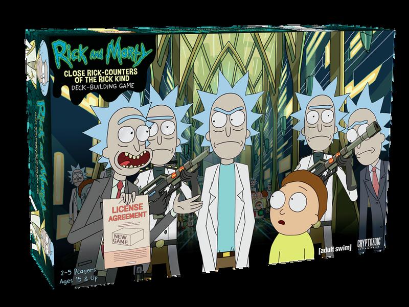 Lo siento amigo, sólo estoy tratando de mostrar estos Rick & Morty ...