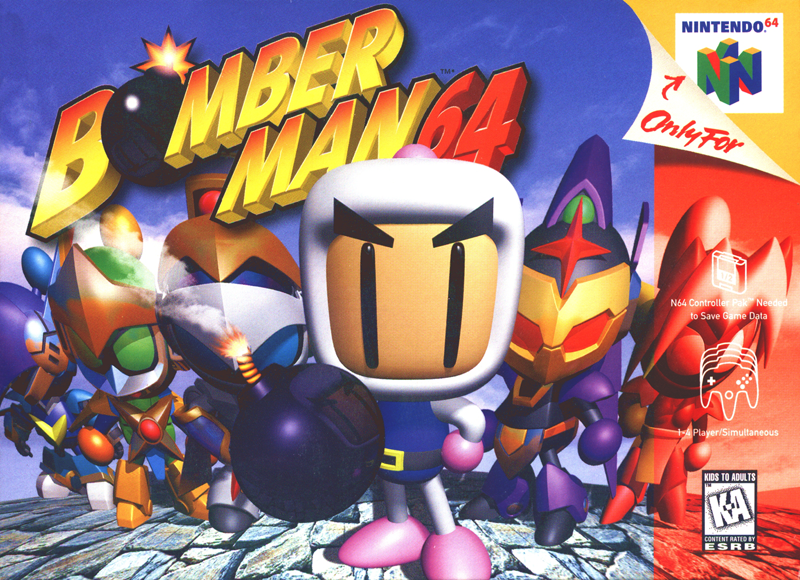 Illustration for article titled Bomberman 64