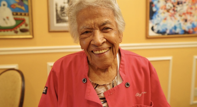 Leah Chase (Paul Broussard/courtesy of the New Orleans Tourism Marketing Corp.)
