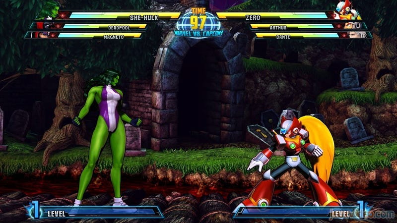 Illustration for article titled She-Hulk And Zero Join The Marvel Vs. Capcom 3 Brawl