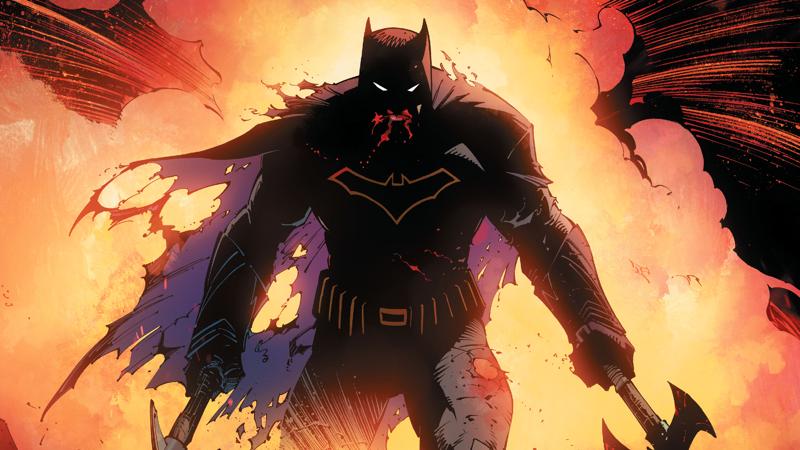 Image: DC Comics. Dark Nights Metal art by Greg Capullo.