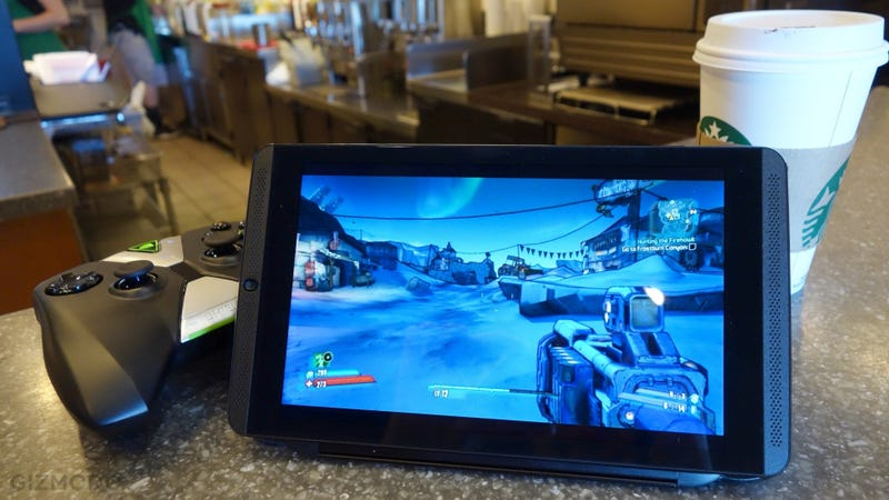 Illustration for article titled Nvidia Shield Tablet LTE: Stream Games Anywhere (If You've Got the Cash)