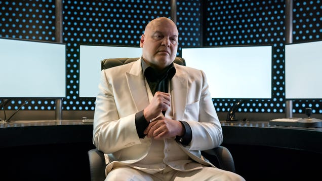 Daredevil doesn't realize Wilson Fisk is less interesting the more powerful he becomes