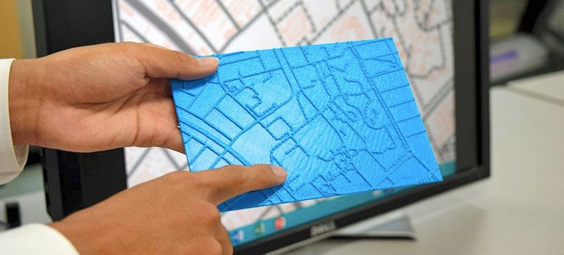 Illustration for article titled New Software Lets the Visually Impaired 3D Print a Map To Go