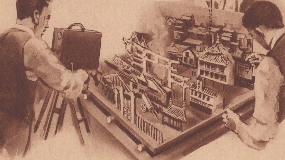 gizmodo.com - Matt Novak - How Filmmakers Created Fake Newsreels in the 1920s