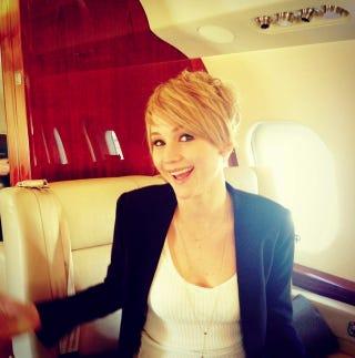 Illustration for article titled Jennifer Lawrence Has Short Hair Now