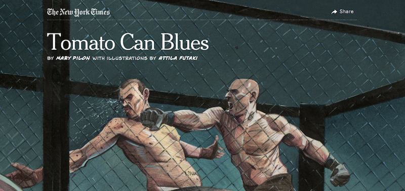 Illustration for article titled How An MMA Fighter Faked His Own Death