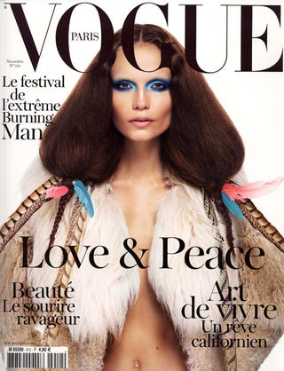 Illustration for article titled And This Is How You Totally Dominate The Cover Of Vogue Paris