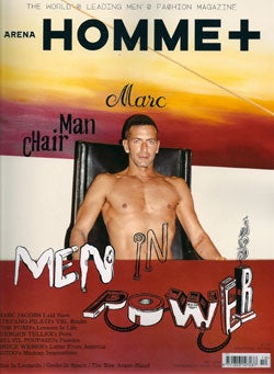 Illustration for article titled Marc Jacobs Is Topless & Having A Mid-Life Crisis