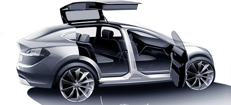 Illustration for article titled What Are You Dying To Know About The Tesla Model X?