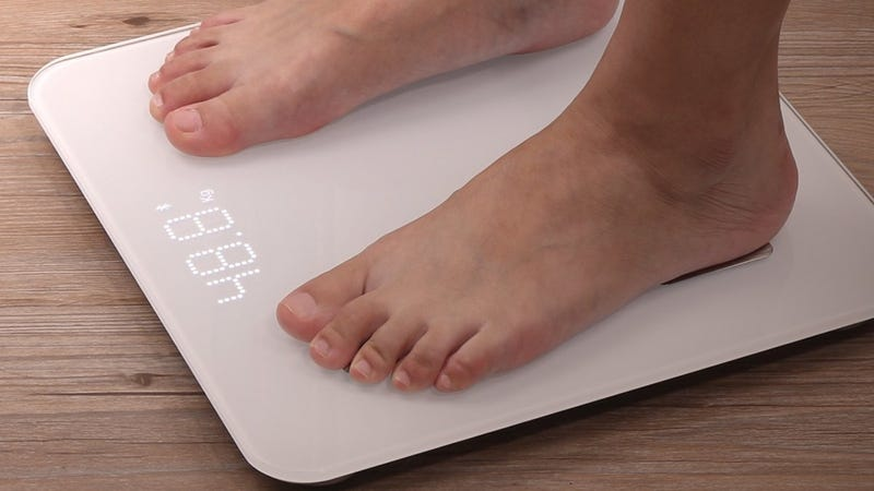1byone Bluetooth Scale, $23 with code XKEKJK5S