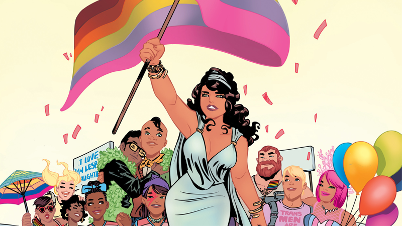 Image Credit: Love is Love anthology cover by Elsa Charretier.